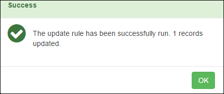 Update Rule Success